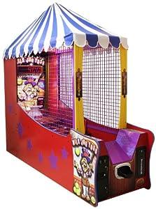 ICE Milk Jug Ball Toss Arcade Game Machine