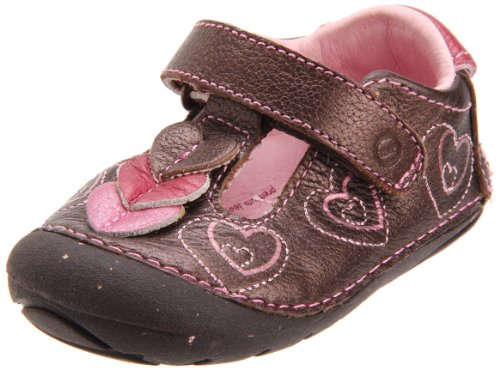 Stride Rite SRT SM Ava First Walkers (Infant/Toddler),Dark Brown,4.5 M US Toddler