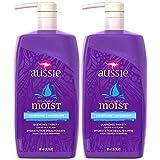 Aussie Mega Moist Conditioner 29.2 oz (Pack of 2) (Tamaño: 29.2)