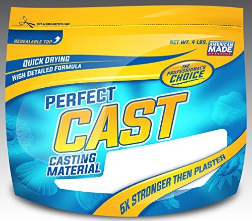 Cast & Paint 4lb PerfectCast Casting Material (Plaster Mix compare prices)