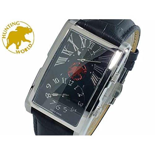 ハンティングワールド HUNTING WORLD タイムマジック クオーツ メンズ 腕時計 HW919SBK