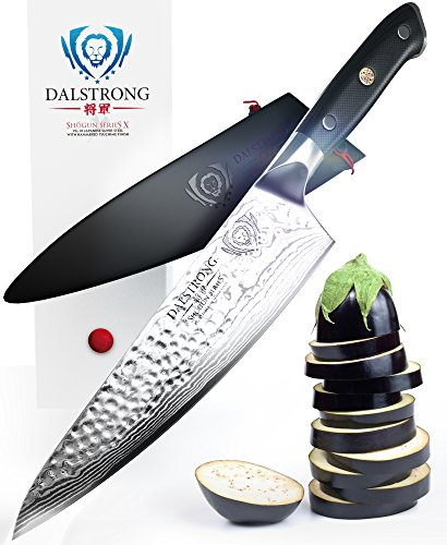 52 off dalstrong chef 39 s knife shogun series x gyuto vg10 hammered finish 8 w chef. Black Bedroom Furniture Sets. Home Design Ideas