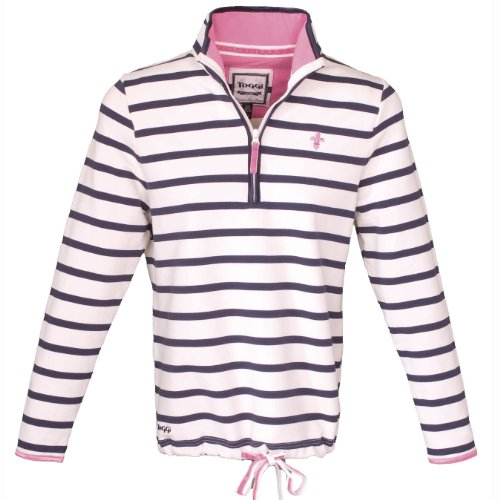 Toggi Elle Ladies Striped Sweatshirt (Winter