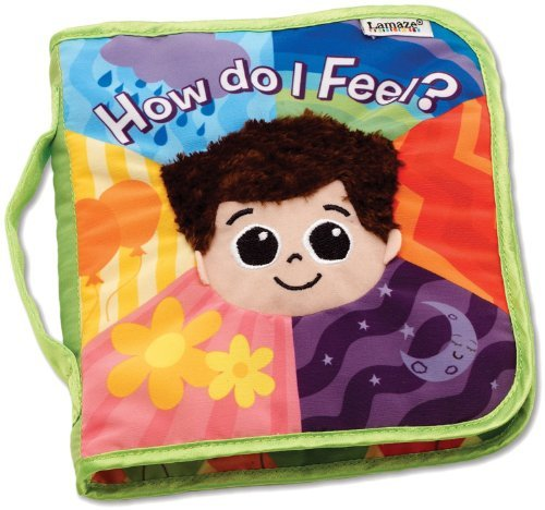 Lamaze Baby Cloth Book, How Do I Feel? (0m+) - 1