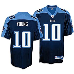Reebok Tennessee Titans Vince Young Premier Alternate Jersey by Reebok