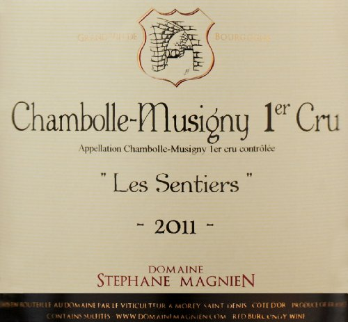 "2011 Domaine Stephane Magnien ""Les Sentiers,"" Chambolle-Musigny 1Er Cru 750 Ml"