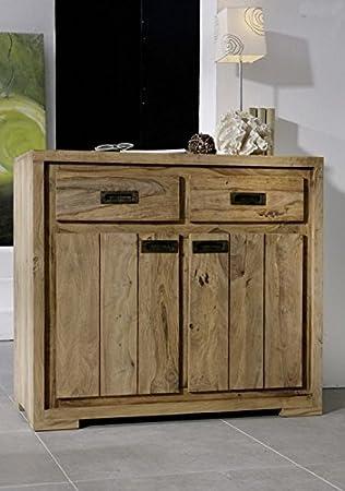 De madera maciza engrasada muebles de madera maciza de palisandro cómoda marrón Nature Brown #855