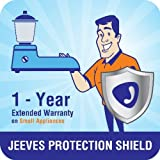 Jeeves 1-year extended warranty for small appliances (Rs. 4500 to < 5000)