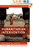 Humanitarian Intervention (WCMW - War and Conflict in the Modern World)