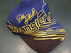 Rare Vintage 1999 Dale Earnhardt Sr #3 Classic Wrangler Blue & Yellow Hat Cap One... by Chase Authentics
