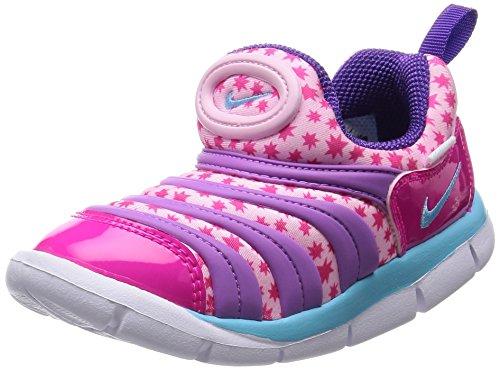 [Nike] NIKE DYNAMO FREE (TD) 343938-884 343938-884 (Prism pink / tide pool blue / Fushan grow / pink foil / ultra violet / white / 10 C)