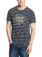 Springfield Camiseta Manga Corta (Azul Marino)