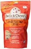 Stella & Chewys Freeze Dried Dog Food for Adult Dogs, Beef Dinner, 16 Ounce Bag