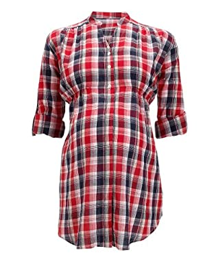 Maternity Check Shirt