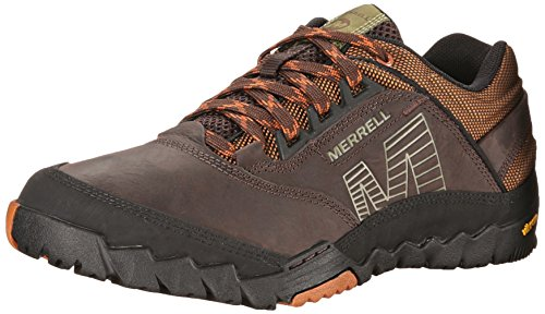 Merrell Annex Mens Low Rise Hiking Shoes - Dark Earth