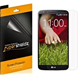 [6-Pack] SUPERSHIELDZ- Anti-Glare & Anti-Fingerprint (Matte) Screen Protector For LG G2 + Lifetime Replacements Warranty [6-PACK] - Retail Packaging