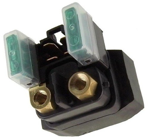 Max Motosports Starter Solenoid Relay Yamaha YFM 350/400/450/660 Grizzly Kodiak Raptor WOLVERINE Big Bear (Raptor 660 Starter compare prices)