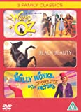 The Wizard of Oz / Black Beauty / Willy Wonka and the Chocolate Factory [DVD]