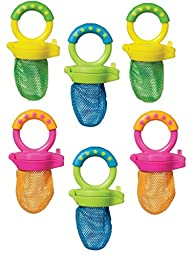 Munchkin Fresh Food Feeder, Colors May Vary, 6 Count