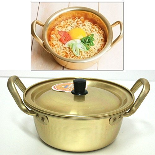 Korea Noodle Pot / Hot Shin Ramyun Aluminum Pot 6.3