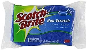 Scotch-Brite 3M Non-Scratch Scrub Sponges - 18-Count