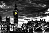Big Ben London England Poster 13x19