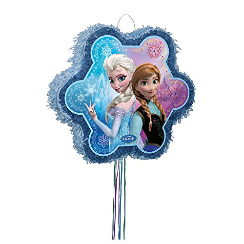Buy Discount Disney Frozen Snowflake Piñata, Pull String