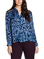 Elena Mirò Camisa Mujer (Azul)
