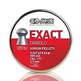 JSB DIABOLO EXACT .177 Cal., 4.52mm. airgun pellets