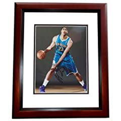 Anthony Davis Autographed  Hand Signed New Orleans Hornets 8x10 Photo - MAHOGANY...