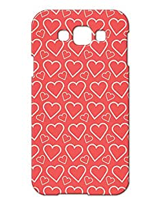 Pickpattern Back Coverfor Samsung E7