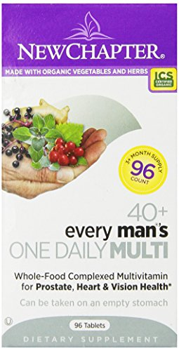 New Chapter Every Man'S One Daily 40 Plus Multivitamin Tablets, 96 Count