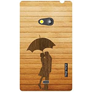 Design Worlds Nokia Lumia 625 Back Cover - Wood Designer Case and Covers