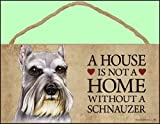 A house is not a home without Schnauzer Dog - 5