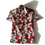 [XL・2XL・3XL]HILO HATTIE 半袖アロハシャツ hh024 大きいサイズ メンズ [並行輸入品]