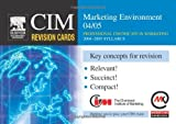 img - for CIM Revision Cards: Marketing Environment 04/05 book / textbook / text book