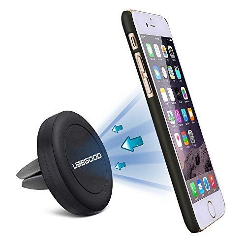 Supporto Auto , Ubegood Supporto Cellulare Auto Magnetico / Porta Cellulare Air Vent per iPhone 6 / 6s / 6 plus / 6s Plus / Sony Xperia / Samsung Galaxy S6 / Note 5 / LG /Nexus ecc.