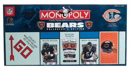 Buy Chicago Bears Monopoly