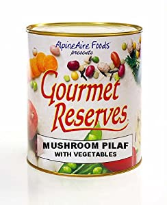 Alpine Aire Gourmet Reserves Mushroom Pilaf with Vegetables (10-Can) by Alpine Aire