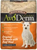 AvoDerm Natural Oven-Baked Original Formula with Beef Meal Small Bites Dog Food, 15-Pound