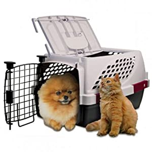 Noz2Noz Pet Suite Double Door Pet Kennel, 23-Inch, for Pets up to 25 Pounds (487)
