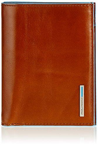 Piquadro PU1393B2/AR Portamonete, 12 cm, Arancione
