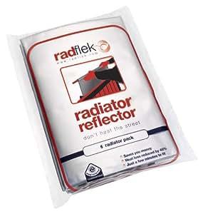 Radflek Radiator Reflectors (3 Sheets, Fits 3-6 Radiators)  (Old Version)