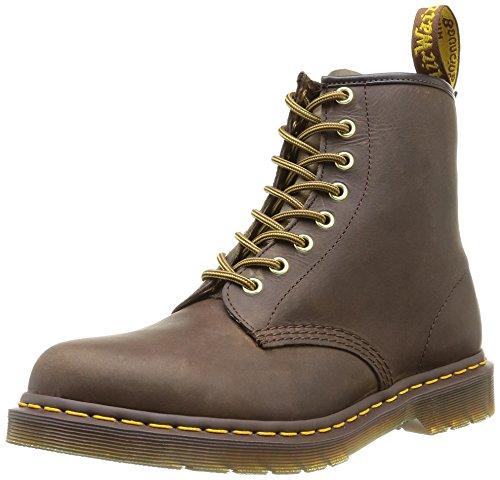 Dr. Martens 1460 Crazy Horse Unisex Aztech Pelle Marrone Boots, 42