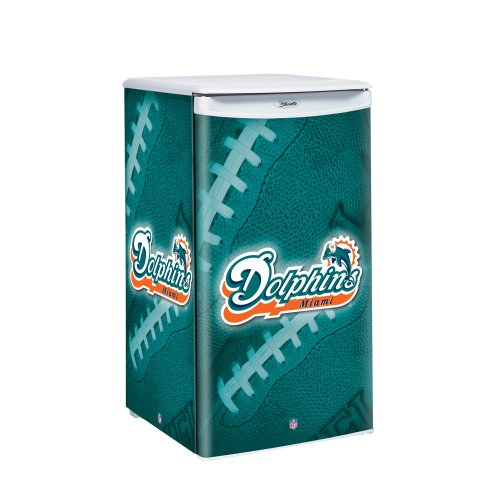 NFL Miami Dolphins Counter Top Refrigerator