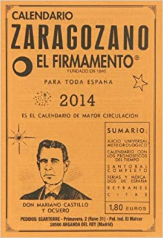 Calendario zaragozano 2014: Mariano Castillo y Ocsiero: 9788493874926