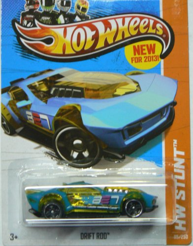 Hot Wheels 2013 Hw Stunt Drift Rod 85/250 - 1