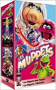 Coffret Les Muppets 2 VHS : Les Muppets dans l'espace / Les Muppets à manhattan