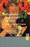 echange, troc Pierre Pierrard - Chansons populaires de Lille sous le second Empire