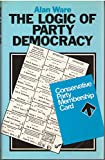 img - for The Logic of Party Democracy book / textbook / text book